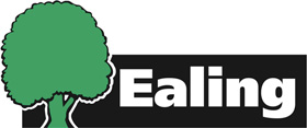 A tree; Ealing Council logo